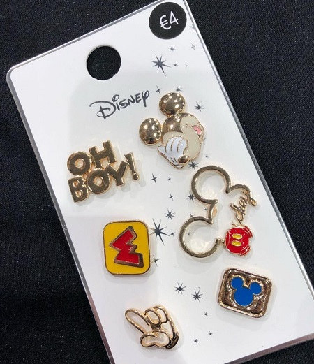 Primark Mickey Mouse Disney Pin Set
