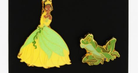 Princess And The Frog Tiana BoxLunch Disney Pin Set