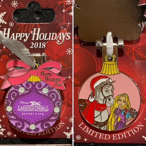 Saratoga Springs Resort 2018 Holiday Pin