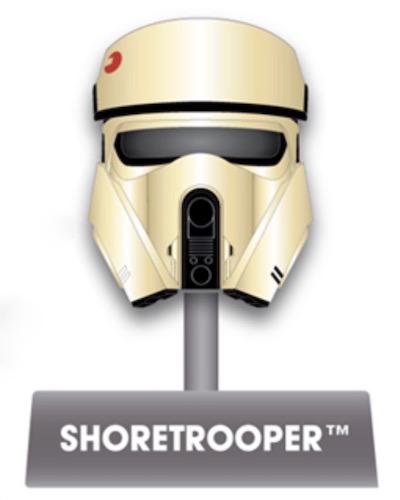Shoretrooper Helmet Disney Pin
