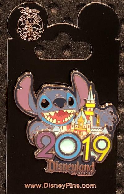 Stitch 2019 DLR Pin