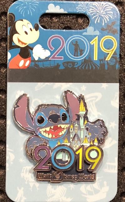 Stitch 2019 WDW Pin