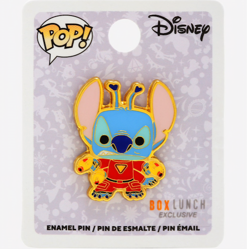 Stitch Alien Suit Funko Pop! Disney BoxLunch Pin