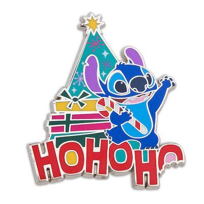 Stitch Ho Ho Ho shopDisney Pin