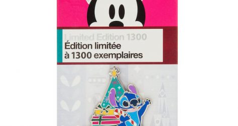 Stitch Holiday 2018 Limited Edition Pin