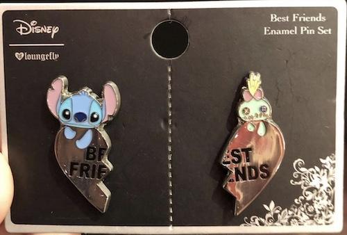 Stitch Scrump Best Friends Pin Set