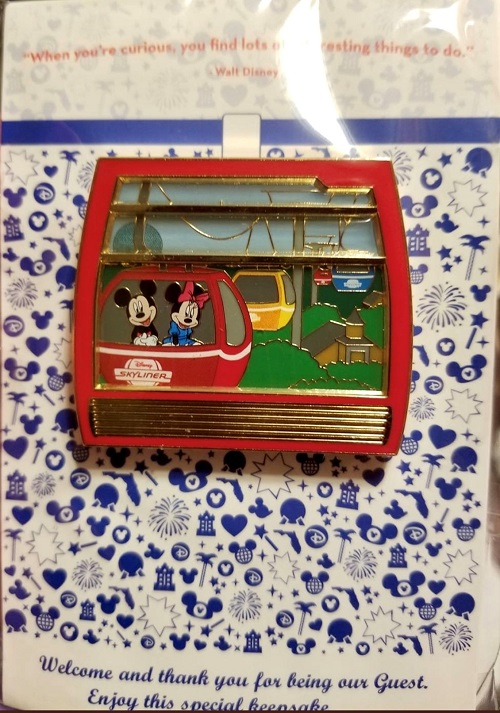 The First Disney Skyliner Pin