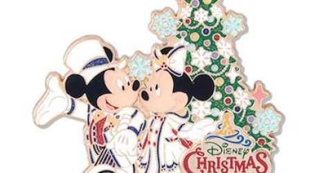 Tokyo DisneySea Christmas 2018 Pin
