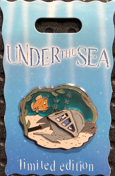 Under the Sea 2018 Sword in the Stone Pin