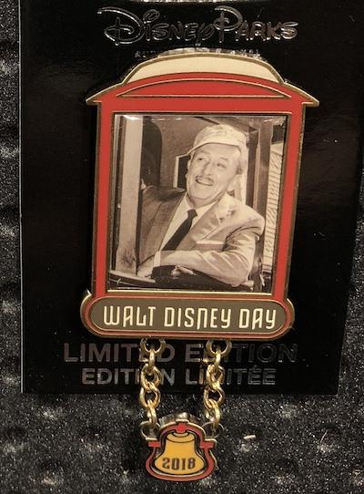 Walt Disney Day 2018 Pin