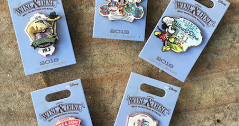 Wine & Dine Half Marathon Weekend 2018 Pins