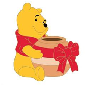 Winnie the Pooh Toys for Tots 2018 Pin