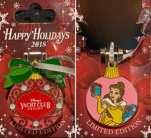 Yacht Club Resort 2018 Holiday Pin