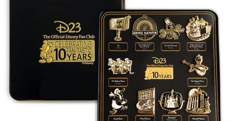 10 Fan-Tastic Milestones Pin Set