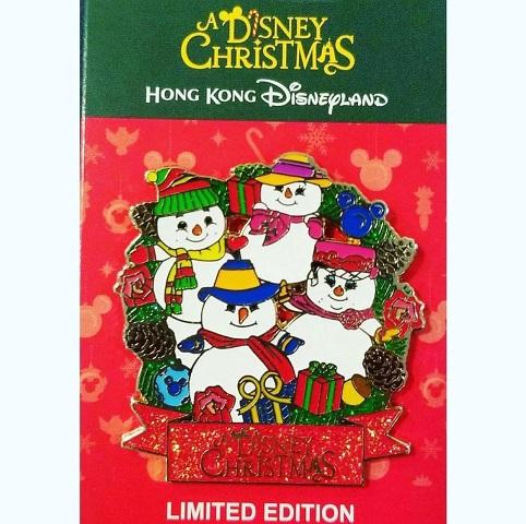 A Disney Christmas - Hong Kong Disneyland Pin