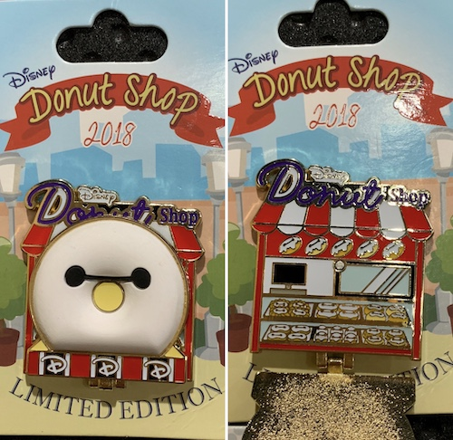 Baymax Disney Donut Shop Pin