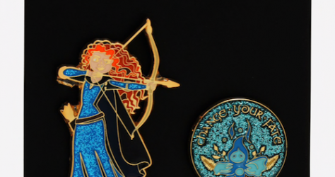 Brave Merida Wisp BoxLunch Disney Pin Set