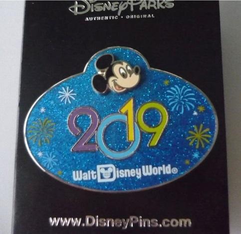 Cast Member Badge 2019 Disney Pin