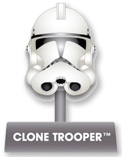 Clone Trooper Helmet Disney Pin