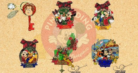 December 2018 HKDL Limited Edition Pin Releases