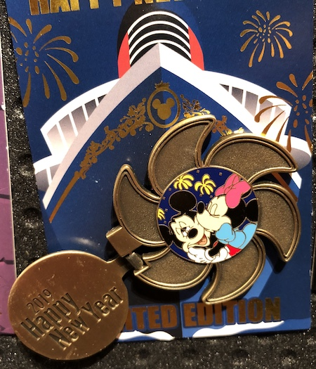 Disney Cruise Line Happy New Year 2019 Pin