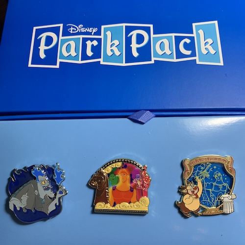 Disney Park Pack Pin Edition 3.0 – November 2018