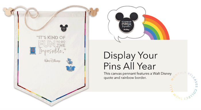 Disney Wisdom 2019 Pin Canvas