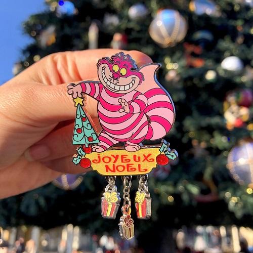 Pin Disneyland Paris Noel Cheshire Cat// Cat 2018 OE