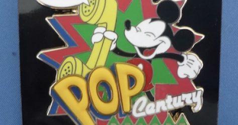 Disney's Pop Century Resort 15th Anniversary Pin