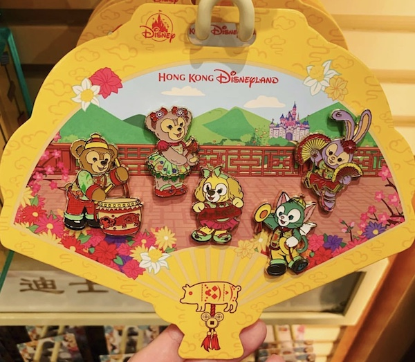 Duffy & Friends Chinese New Year 2019 Pin Set
