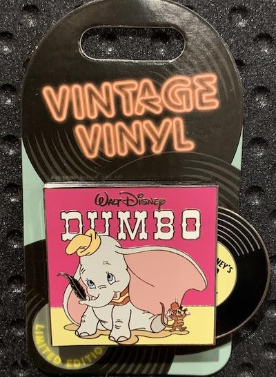 Dumbo Vintage Vinyl Pin