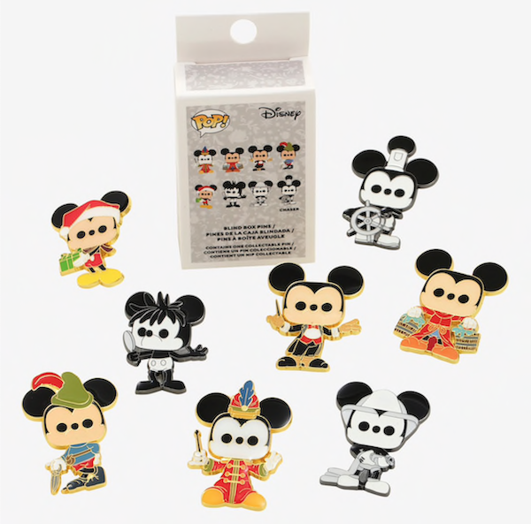 Funko Pop! Mickey Mouse 90th BoxLunch Disney Pins