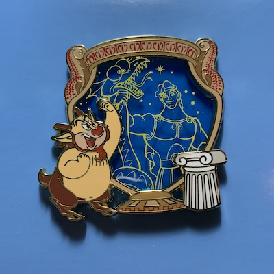 Hades Stained Glass Park Pack Pin