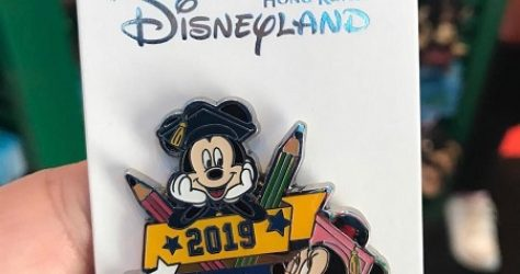 Hong Kong Disneyland Happy Graduation 2019 Pin
