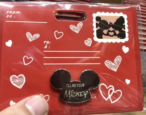 I'll Be Your Mickey Pin - Disney Store