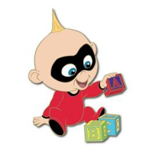 Jack Jack Toys for Tots 2018 Pin