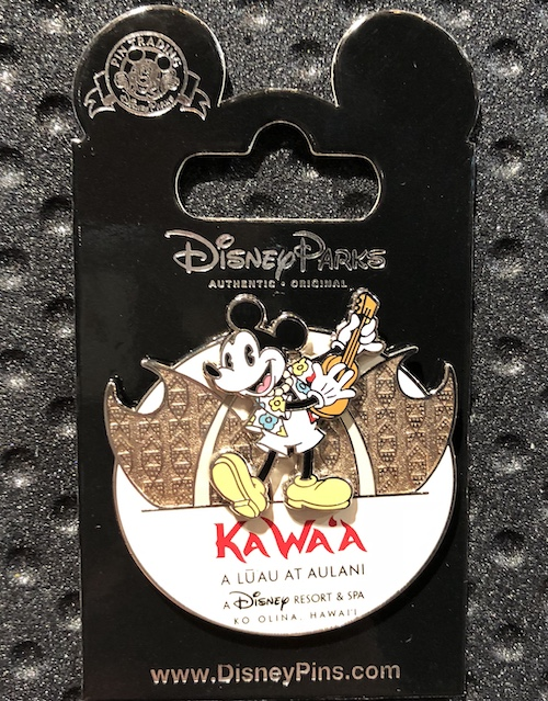 KA WA'A – A Lū'au at Aulani Disney Pin