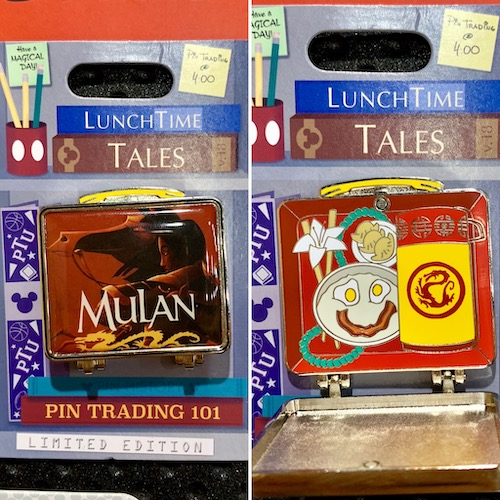 Lunch Time Tales 2018 Mulan Pin