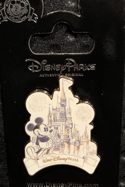 Mickey – Cinderella Castle Walt Disney World Sketch Pin