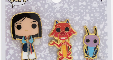 Mulan Funko Pop! Disney BoxLunch Pin Set