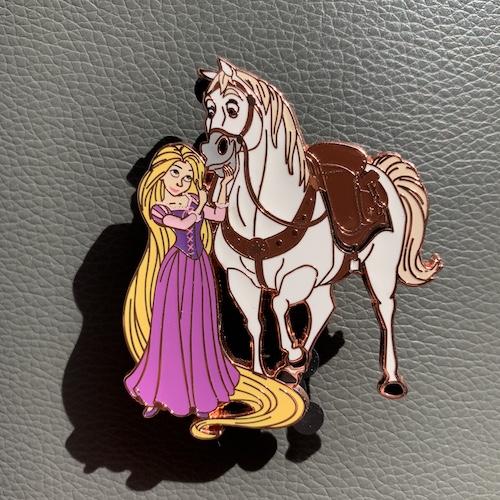 Rapunzel & Maximus Best Friends LE 500 Disney Pin