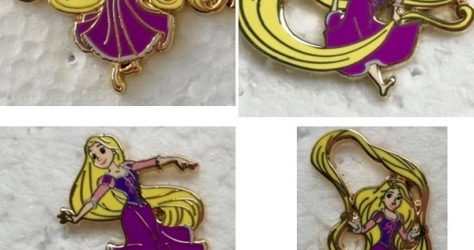 Rapunzel Playtime HotArt LE 200 Disney Pin Series