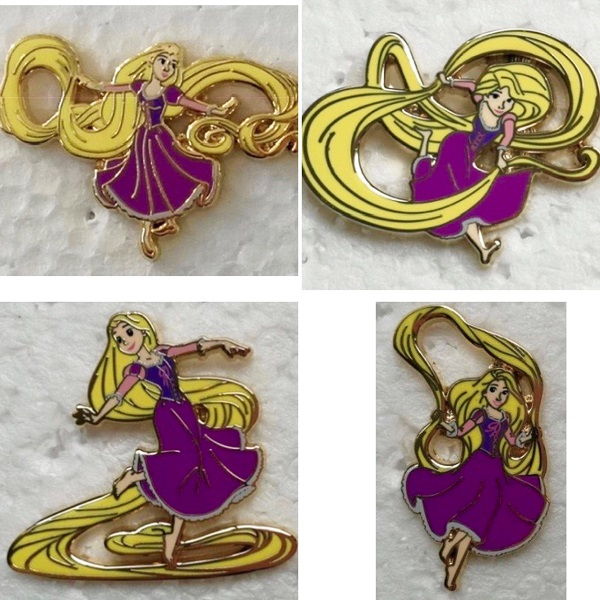 Rapunzel Playtime HotArt LE 200 Disney Pin Series