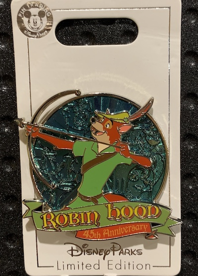 Robin Hood 45th Anniversary Pin