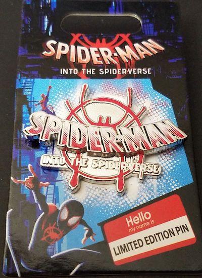 Spider-Man Into the Spider-Verse Disney Pin