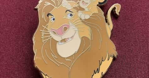 The Lion King Family Portraits Series 2 Acme Pin