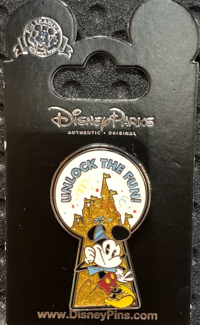 Unlock the Fun! Mickey Pin