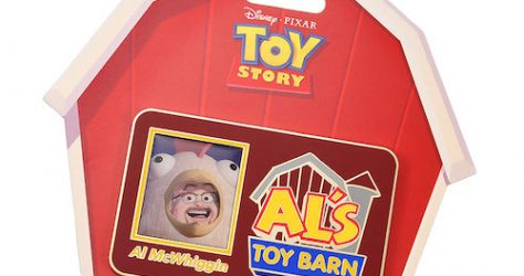 Al's Toy Barn Jumbo Disney Pin