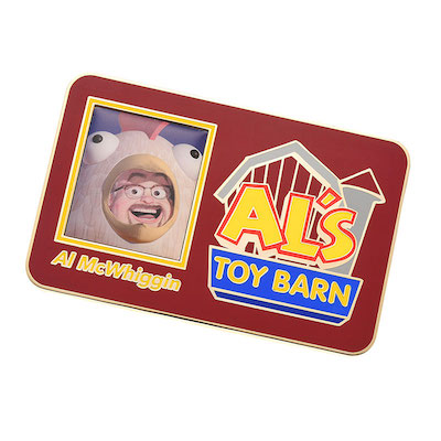 Al's Toy Barn Pin