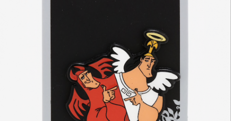 Angel & Devil Kronk Loungefly Disney Pin
